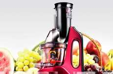 Anti-Oxidizing Juicers - The SKG Anti-Oxidizing Masticating Juicer Keeps Nutrients from Spoiling
