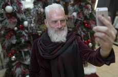 This Holiday Campaign Features a More Stylish Version of Kris Kringle
