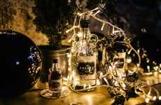Black Christmas Shops - Kraken Rum's Christmas Pop-Up Shop Celebrates with All-Black Offerings