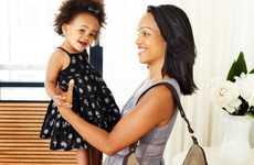 Designer Diaper Bags - The 'Skip Hop Versa' Expandable Purse Diaper Bag Fits New Mom Essentials