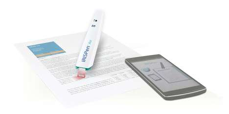 Wireless Text Scanners - The 'IRISPen' Air 7 Pen Scanner Absorbs Text Without Any Typing Required