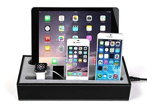 Bedside Charging Stations - The Konsait Multi-Device Dock Charges Up to Four Gadgets at a Time