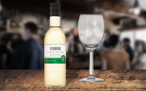 Single-Serve Non-Alcoholic Wines - Eisberg's Packaging Now Includes Convenient Single-Serve Bottles