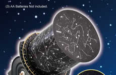 DIY Planetarium Papercrafts - This Science Paper Craft Projects the Night Sky onto Interior Walls