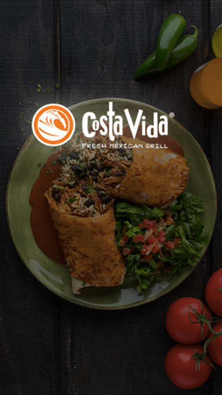 Mexican Munchie Rewards Apps - The Costa Vida Mobile App Lets Mexican Food-Lovers Gain Rewards