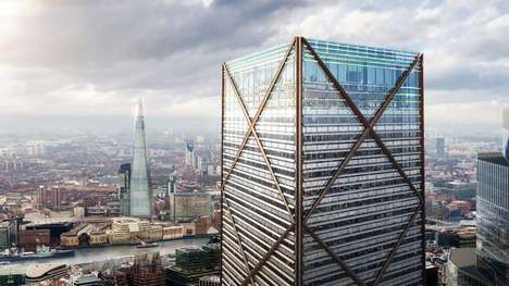 Populist Public Skyscrapers - The 1 Undershaft Tower Welcomes Engagement From London Residents