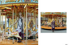 Fashionable Carnival Editorials - The Ones 2 Watch 'Charter Fair' Series Highlights Eccentric Pieces