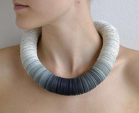 Book Art Necklaces