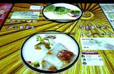 Gamified Restaurant Experiences - London's Inamo Restaurant Features Personalized Touchscreen Tables