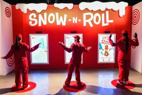 Giant Holiday Retail Playgrounds - Target Wonderland is an Entertaining & Shoppable Christmas World