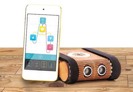 Code-Teaching Robots - The 'Codie' Robot Makes Learning to Code a Fun Activity