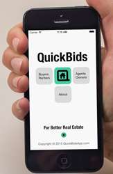 Rapid Real Estate Apps - The QuickBids App Lets Millennial Buyers Close the Deal Quickly