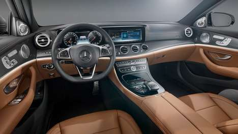 Gamechanging Car Interiors - The New Mercedes E-Class Interior Sets a Whole New Standard