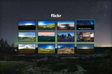 Immersive Photo Apps - This New Flickr App is Designed For Use With the Samsung Gear VR System