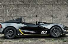 Stiff-Bodied Cars - The Zenos E10R is Designed For Maximum Stability and Performance