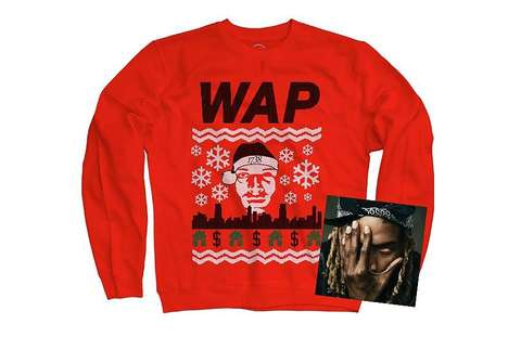 Holiday Rapper Sweaters - The Wap Limited Edition Christmas Jumper Celebrates Artist Fetty Wap