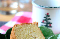 Holiday Eggnog Cheesecakes