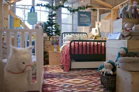In-Store Toy Shops - Crate & Barrel is Temporarily Housing a Land of Nod Store-In-Store Shop