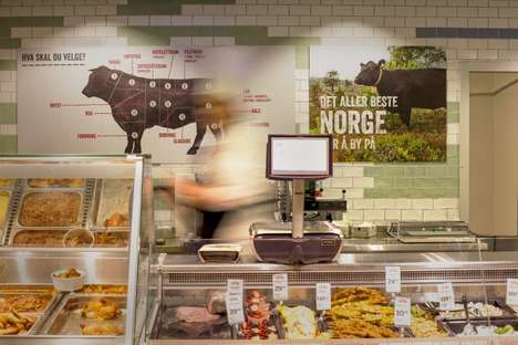 Narrative Supermarket Concepts - The Meny Supermarket Tells the Story of Local Agriculture