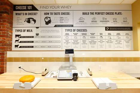 Taste-Focused Cheese Shops - This Store Encourages Customers to Sample Products Before They Buy