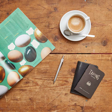 Foodie-Focused Notebooks - The 'Tasting Notes' Notebook from Word. Encourages Food Journaling