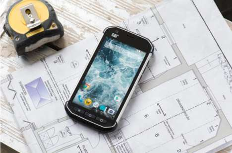 Rugged Outdoor Smartphones - The CAT S40 is a Rugged Smartphone Built to Withstand Damage