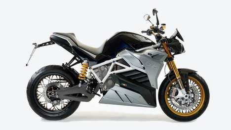 Electric Streetfighter Motorbikes - The Eva Streetfighter Features a Significantly Improved Range