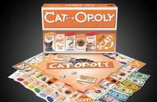 Replica Feline Board Games - The Cat-Opoly Creatively Skews Monopoly to Cat Lovers