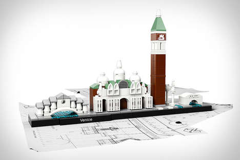 Urban LEGO Skylines - These Iconic City Landscapes are Recreated Using Tiny Toy Building Blocks