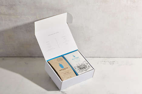 Indulgent Coffee Sets - The Coffee and Chocolate in This Boxed Set Share Origins from Guatemala