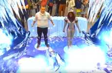 Icy Action Games - Poliakov's 'Ice Breaker Challenge' Immerses Fans in an Icy World
