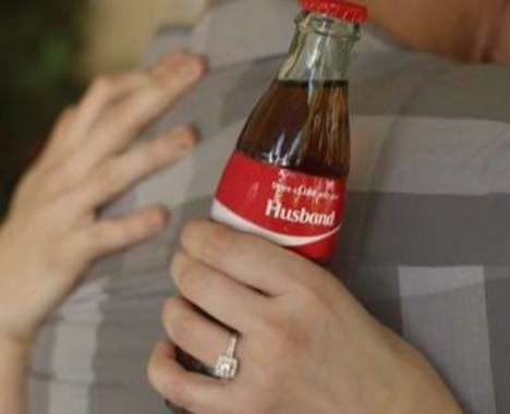 Candid Holiday Cola Ads