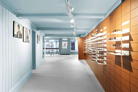 Futuristic Eyewear Boutiques - The New Viu St Gallen Store Resides in a Historic District
