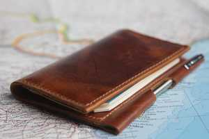 The 'BankNote' Idea Notebook Wallet Packs Space for Notes, Cash and Cards