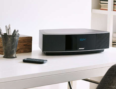 Wirelessly Updated Sound Systems - The Bose Wave Radio IV Has No CD Drive for a Wireless Experience