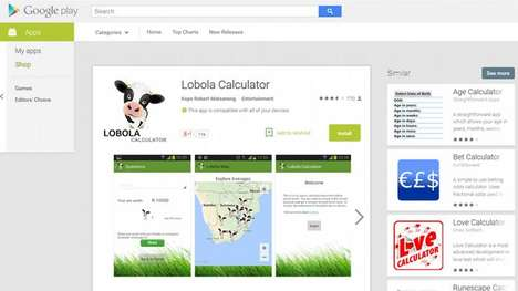 Dowry-Deducing Apps - The Lobola Calculator App Puts a Modern Twist On An Age-Old Tradition