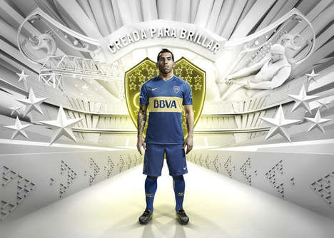 Stadium-Celebrating Jerseys - The New Boca Juniors Jersey Celebrates 'La Bombonera'