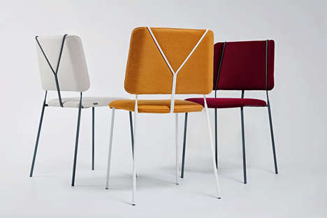Trouser-Inspired Seating - The Frankie Modern Chairs are Designed to Look Like a Pair of Men's Pants