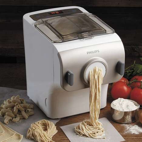 Industrial Pasta Makers - The Phillips Avance Pasta Maker Produces Large Fresh Noodles in Miniutes