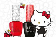 Cartoon-Inspired Nail Lacquers - This Limited-Edition Nail Polish Line is Inspired by Hello Kitty