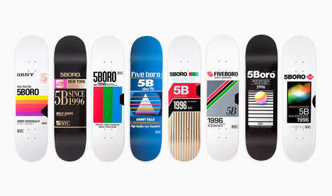 13 Contemporary Skate Decks - From Bold Artistic Skateboards to World Cup-Inspired Skateboards