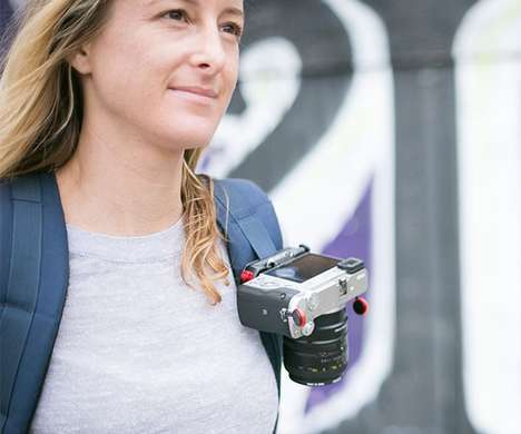 Secure Camera Carriers - This Peak Design Camera Clip Keeps Equipment Handy for Travelers
