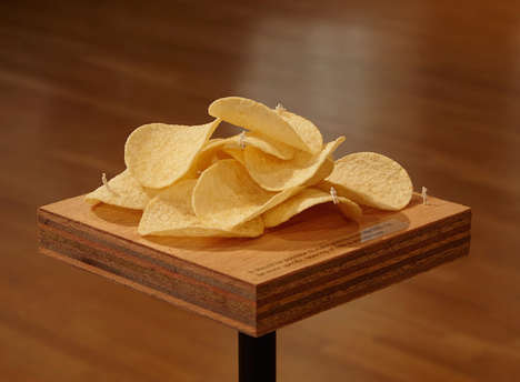Household Art Displays - This Artist Created an Exhibit of Everyday Objects from Chips to Staples