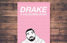 Rapper-Inspired Coloring Books - Etsy's Drake Coloring Book Features Familiar and Printable Images