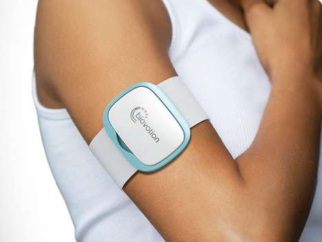 Vital-Tracking Wearables - The Biovotion VSM 1 Digital Health Wearable Tracks Everything Possible