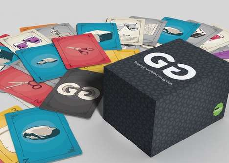 Deceptive Strategy Card Games - The 'GG' Strategy Card Game Takes Only 15-Minutes to Play