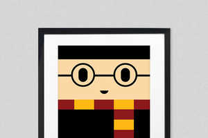 60 Gifts for Harry Potter Fans - From Cartoon Block Art Posters to Wizardly House Novels