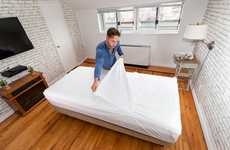 Disposable Bed Sheets - 'AfreSHeet' Features Seven Recyclable Layers to be Peeled and Disposed