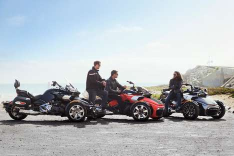 Hybrid Motor Vehicles - The Can-Am Spyder F3-S is a Mighty Three-Wheeled Vehicle