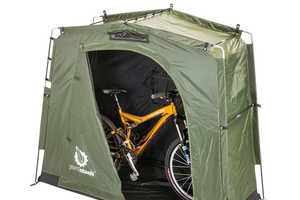 The 'YardStash III' Outdoor Storage Tent Makes the Most of Outside Space